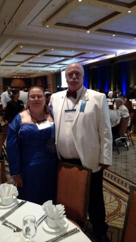 DGE Banquet - DG Mark Stevens & Lion Dawn Stevens