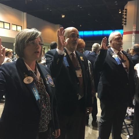 DG Claudia Wigglesworth, DG Pedro Pino, DG Mark Stevens