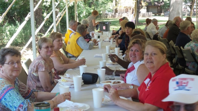 A wonderful barbeque lunch was enjoyed by more than 160 attendees