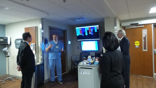 ouring the new Operating Rooms that the Lions of Alabama helped to make possible