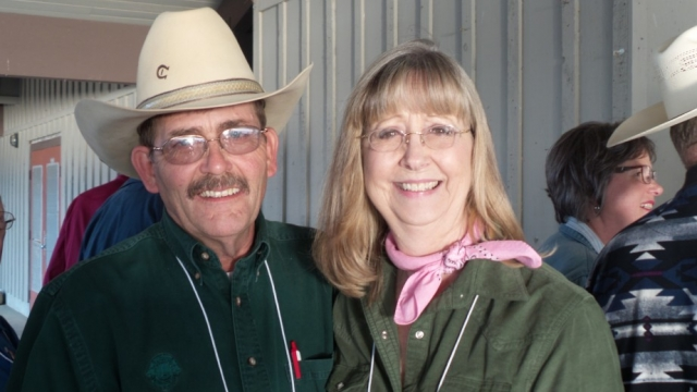PCC Ron Seybold and Lion Karen.