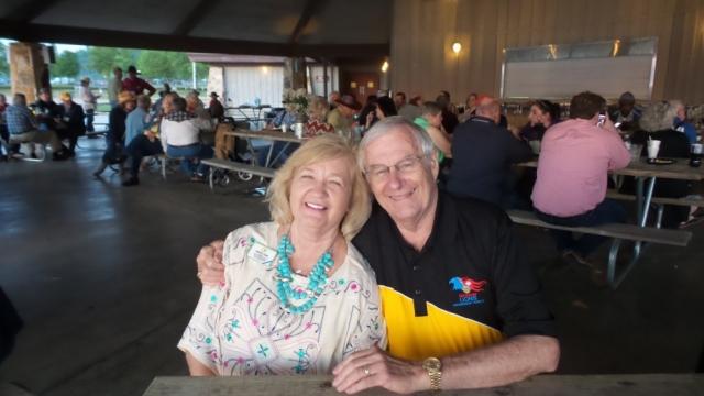 PID Lowell Bonds & Carolyn Bonds enjoying the fun evening!
