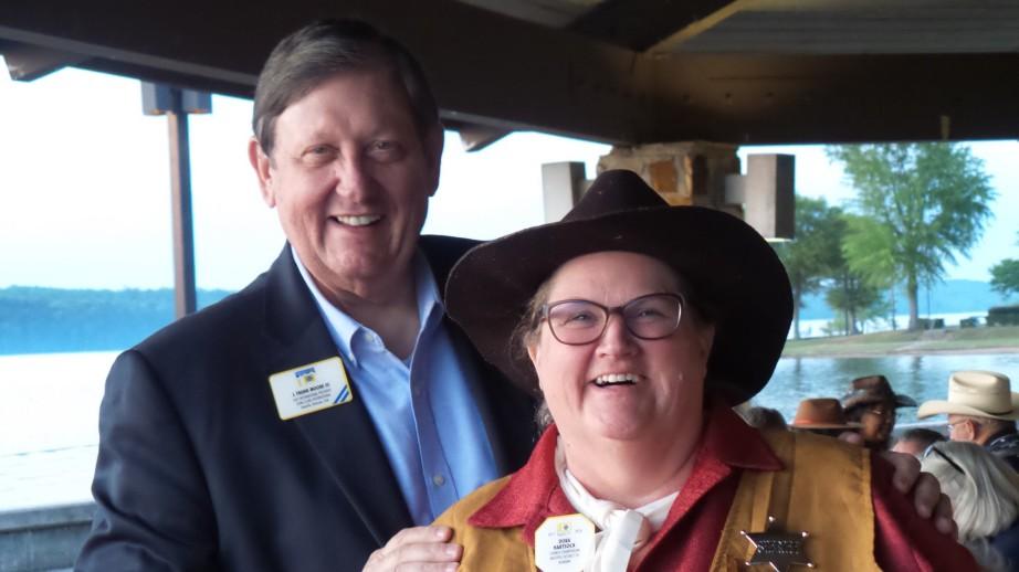 PIP J. Frank Moore III & CC Dora Hartsock - Great Fun!